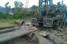 سه حلقه چاه عمیق کشاورزی در آستارا حفر شد