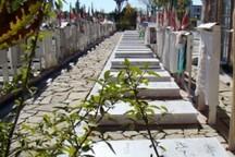 تمامی گلزارهای شهدای شهر همدان ساماندهی شدند