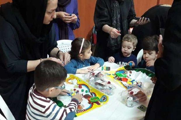 جشنواره خمیربازی کودکان آستارا برگزار شد