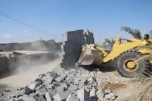 56 هکتار از زمین سیرومچ در جاسک رفع تصرف شد
