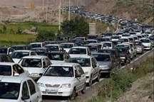 ترافیک نیمه سنگین تردد خودروها در محورهای شمالی استان تهران