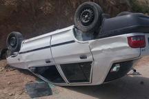 واژگونی خودرو پراید در آزاد راه نطنز- کاشان 6 مجروح برجای گذاشت