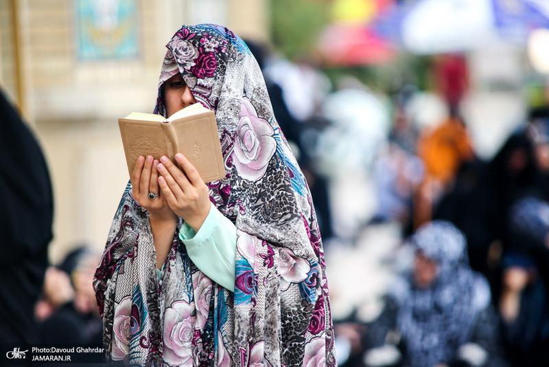مراسم دعای عرفه و وداع با شهدای گمنام