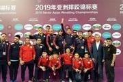 قهرمانی تیم ملی کشتی آزاد کشورمان قلب ملت ایران را شاد کرد