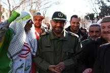 کردستانی ها با حضور در راهپیمایی علاقه خود به انقلاب را نشان دادند