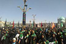 اجتماع بزرگ شیرخوارگان حسینی در حرم امام رضا (ع) برگزار شد