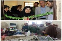 نمایشگاه صنایع دستی در اداره میراث فرهنگی شهرستان کارون