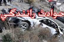3 کشته و 2 مصدوم در تصادف محور عنبرآباد - جیرفت