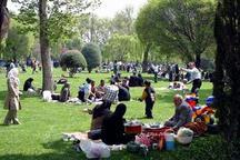 177 بوستان منطقه 20 میزبان شهروندان در روز طبیعت است