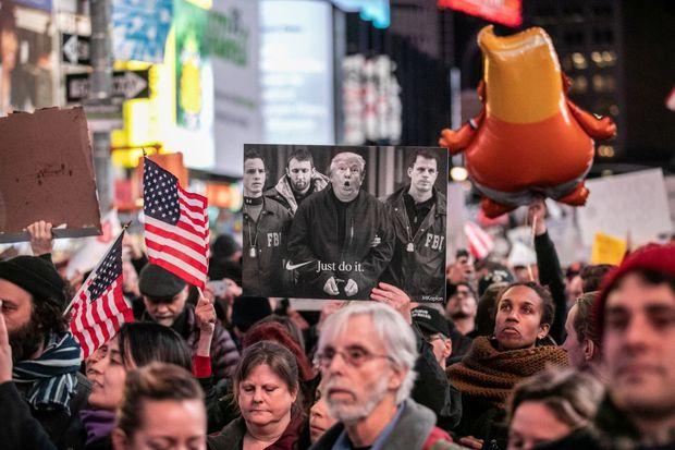 تظاهرات ضدترامپ
