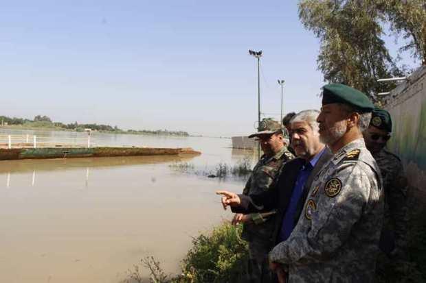 پل شناور غدیر ملاثانی بازسازی می شود