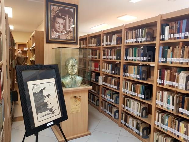 کتابخانه شخصی دکتر محمد معین به دانشگاه گیلان اهداء شد
