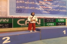 دانش آموز البرزی نائب قهرمان تکواندو کشور شد