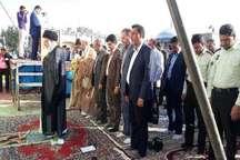 نماز عید فطر در امام زاده سلطان سید علی (ع) نایین اقامه گردید