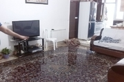 برخی منازل روستایی در تاکستان دچار آب گرفتگی شدند