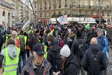 ادامه تظاهرات جنبش جلیقهزردها در فرانسه