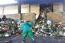 اجرای طرح بازیافت زباله در خدابنده