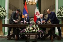 ایران و ارمنستان ۲ سند همکاری مشترک امضا کردند