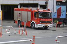 مهار آتشسوزی یک مغازه لباسفروشی در قزوین