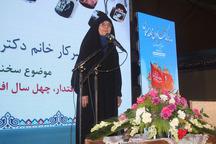 زن ایرانی الگوی مطلوبی برای بانوان مسلمان است