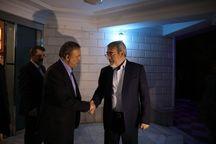 وزیر کشور مشهد را به مقصد تهران ترک کرد