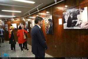 بازدید گردشگران آلمانی و اتریشی از بیت امام خمینی (س) در جماران