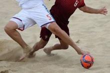 مسابقات گروه سوم فوتبال ساحلی جوانان کشور در پارسیان آغاز شد