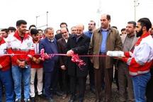 پایگاه امداد و نجات بین شهری دانسفهان افتتاح شد
