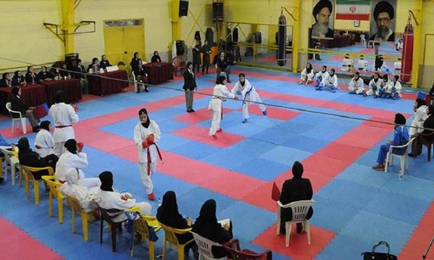 شهرداری سمنان نایب قهرمان لیگ برتر کاراته بانوان کشور شد