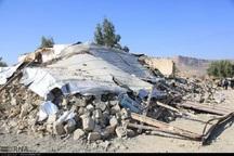 واحدهای زلزله زده شهری و روستایی اخیر بازسازی می شوند
