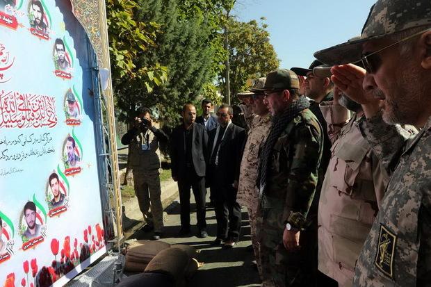 فرمانده سپاه شهدااز یگانهای رزمایش اقتدار عاشورایی تجلیل کرد
