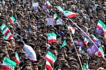 حضورگسترده مردم استان بوشهر برای استقبال از رئیس جمهوری