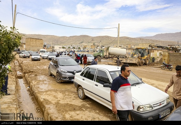 حضور به موقع نمایندگان دولت در مدیریت سیل شیراز موثر بود