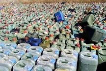بیش از چهار هزار لیتر سوخت قاچاق در کنارک کشف شد