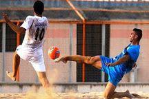 فوتبالیست هرمزگانی در اردوی تیم ملی فوتبال ساحلی حضور یافت