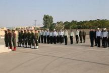صبحگاه مشترک نیروی انتظامی بافق برگزار شد