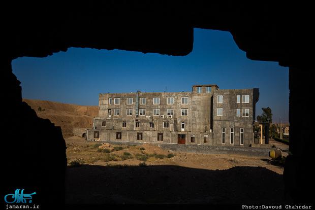 هتل های خاک گرفته «قصرشیرین» و وضعیت بلاتکلیف مرز خسروی