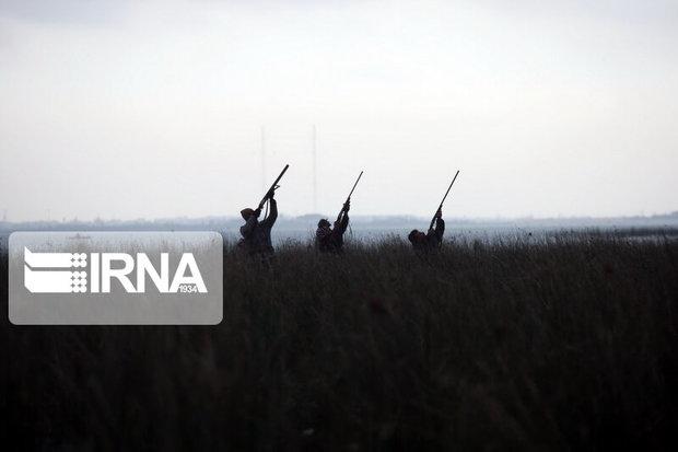 دستگیری سه شکارچی متخلف در فاروج  خراسان شمالی
