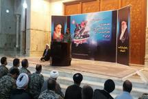 ادای احترام فرمانده قرارگاه هوایی خاتم الانبیا(ص) به امام راحل