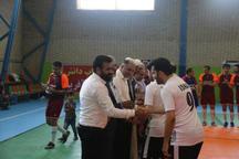 تیم شهداى رسانه قهرمان جام رسانه قم  جهاد دانشگاهی با کامبک رویایی، سوم شد