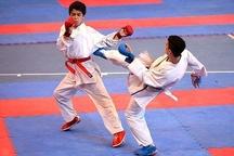 معرفی نفرات برتر رقابتهای کاراته امیدهای قهرمانی کشور