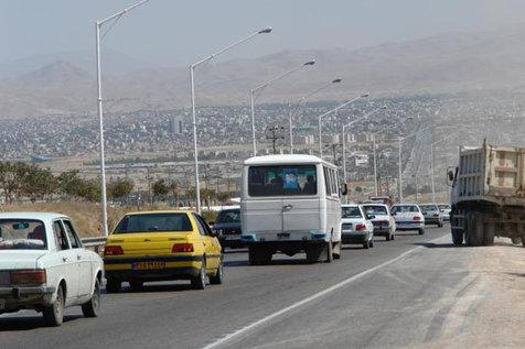 ترافیک سنگین در آزادراه کرج-تهران و کرج-قزوین
