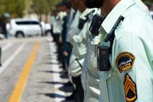 لباس پلیس جیرفت به دوربین مجهز شد