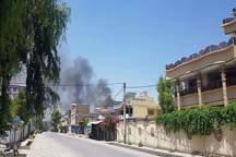 تصاویر/ انفجار و تیراندازی در منطقه دولتی جلال آباد