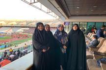 حضور چهار نماینده مجلس زن در ورزشگاه آزادی + عکس