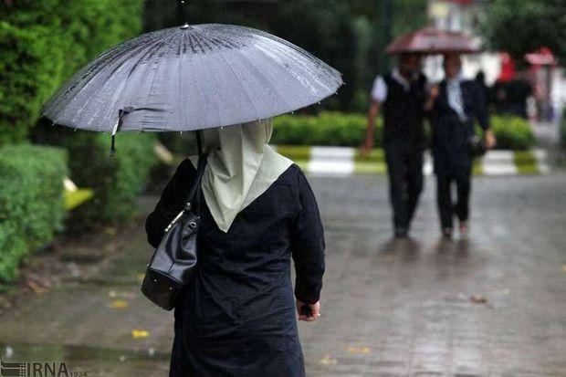 هوای مازندران از امشب بارانی و خنک میشود