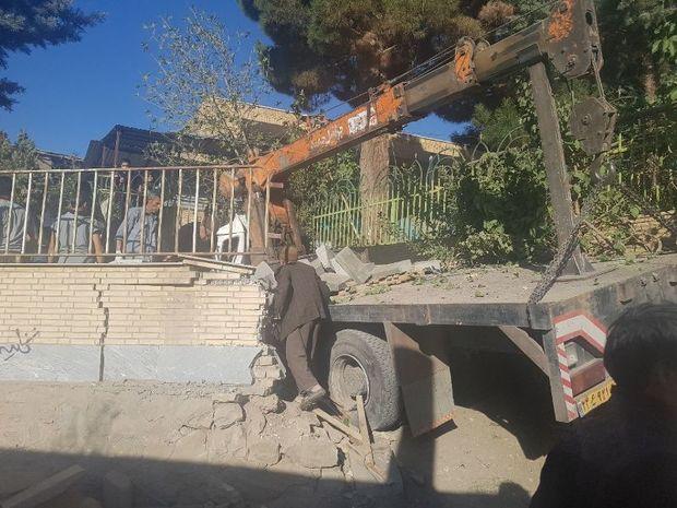 برخوردکامیون با عزاداران حسینی درسبزوار 15 مصدوم به جا گذاشت