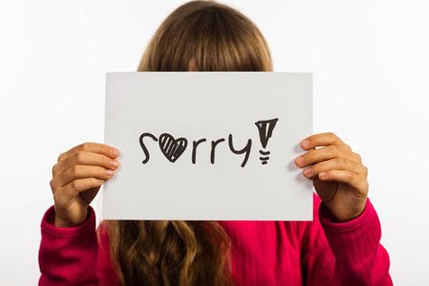 کودکان را مجبور به عذرخواهی نکنید