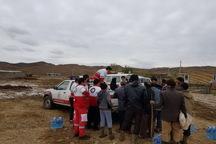 امداد رسانی  به 247 نفر در سیل شهرستان گرمی