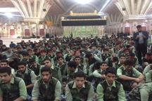 تجدید پیمان 480 نفر از فرماندهان واحدهای مقاومت دانش آموزی با آرمان های امام (ره)